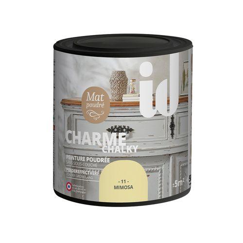 Peinture Les Décoratives 'Charme' mimosa mat 500ml