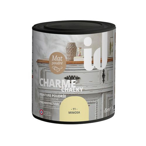 Les Décoratives verf 'Charme' mimosa mat 500ml