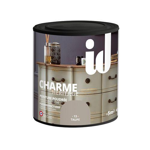 Peinture Les Décoratives 'Charme' taupe mat 500ml