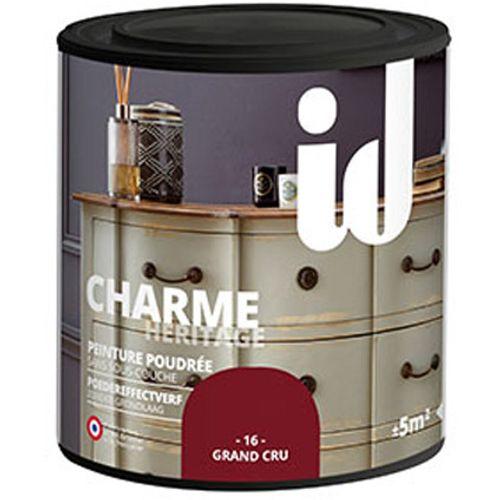 Peinture Les Décoratives 'Charme' grand cru mat 500ml