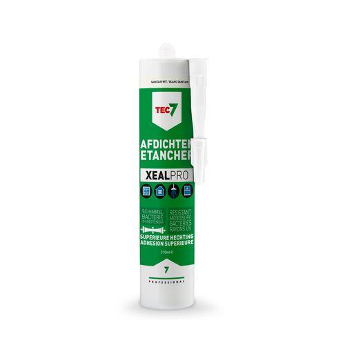 TEC7 afdichtingskit XealPro (RAL 9010 sanitair wit) - patroon 310ml