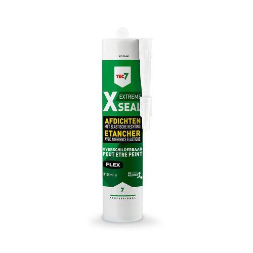 TEC7 X-SEAL overschilderbare afdichtingskit - wit - patroon 310 ml