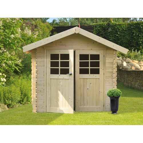 Solid tuinhuis Chartres hout 7,09m² 298x238cm