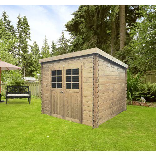 Abri de jardin Solid Hof bois 6,15m² 248x248cm