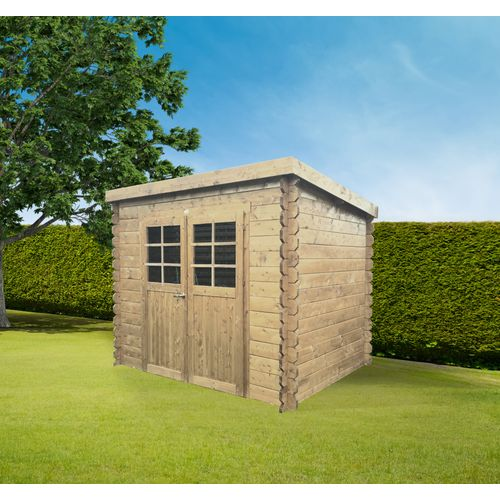 Solid tuinhuis Jena hout 7,39m² 298x248cm