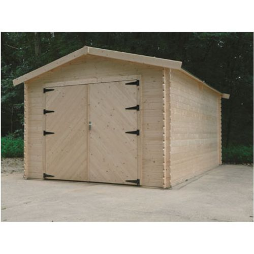 Garage Solid 'S8331' bois 16,20 m²