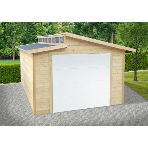 Solid garage 'Torino S8241' hout 20,88 m²