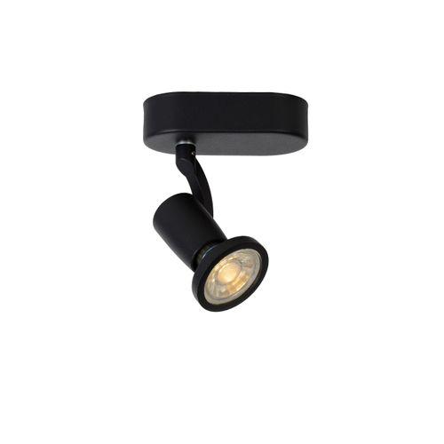 Spot LED Lucide Jaster-Led noir 5W