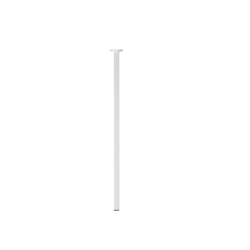 Duraline meubelpoot vierkant wit 2,5x75cm