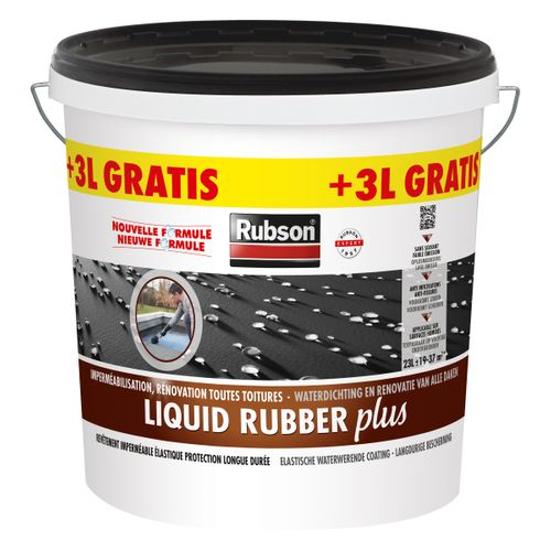 Rubson rubbercoating 'Liquid rubber plus' 23 L