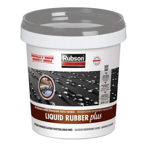 Rubson Liquid Rubber Plus grijs 750ml