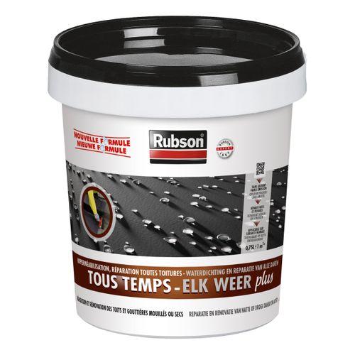 Rubson coating Elk Weer Plus zwart 750 ml