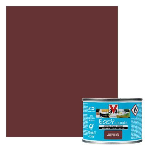Peinture V33 'Easy Colours' taupe satin 125ml