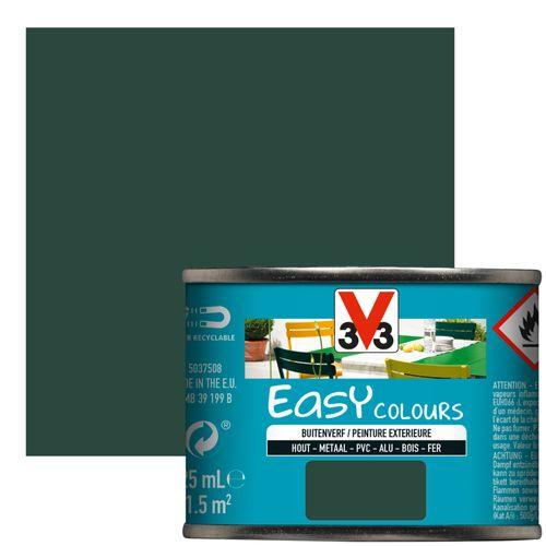 Peinture V33 'Easy Colours' vert basque satin 125ml