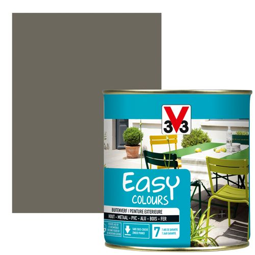 Peinture V33 'Easy Colours' taupe satin 500ml