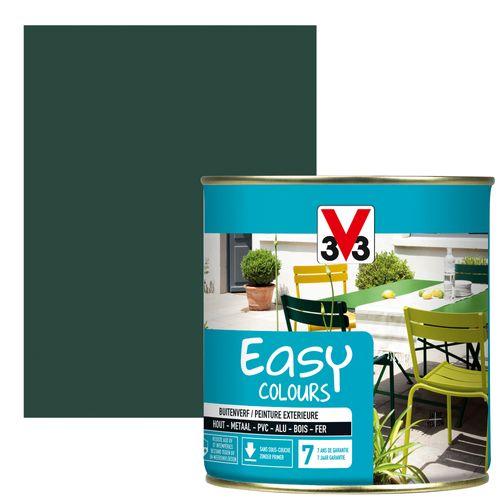 Peinture V33 'Easy Colours' vert basque satin 500ml
