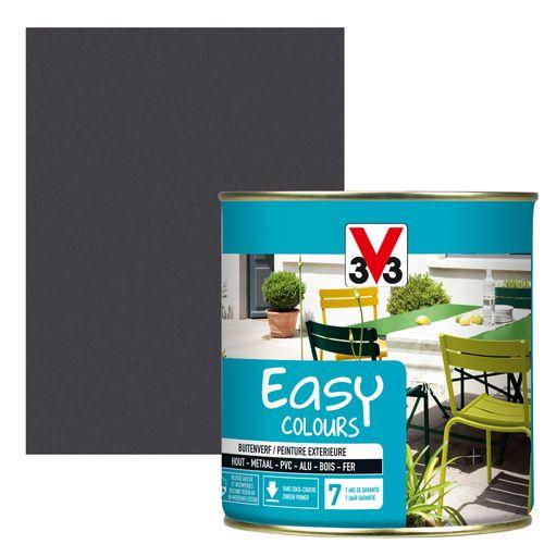 Peinture V33 'Easy Colours' anthracite métallisé 500ml