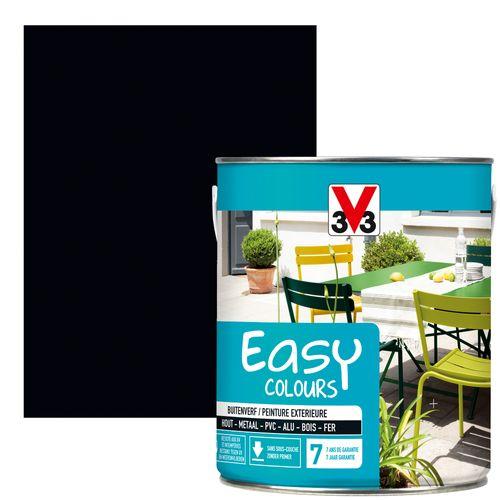 Peinture V33 'Easy Colours' noir satin 2,5L