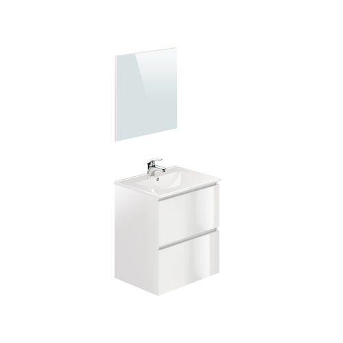 T-Bath badmeubelset Mystic 60cm wit glanzend