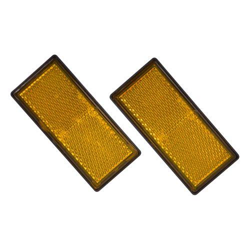 Carpoint reflector oranje 86x40mm 2 stuks