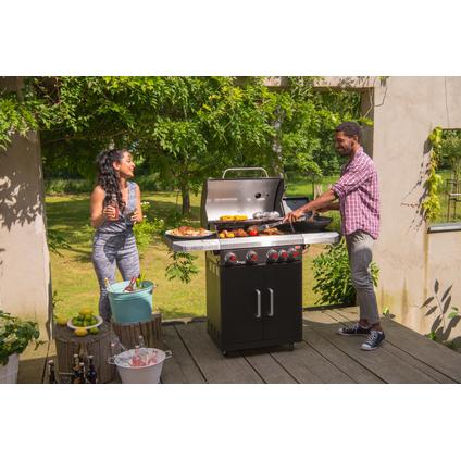 Barbecue à gaz Landmann Rexon PTS 4.1 noir 15kW