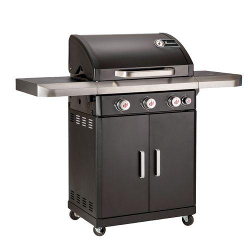Landmann gasbarbecue Rexon PTS 3.1 zwart 14,1kW