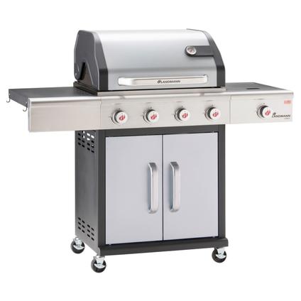 Barbecue à gaz Landmann Triton PTS 4.1 argent 15kW