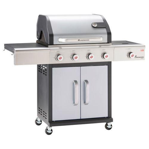 Landmann gasbarbecue Triton PTS 4.1 zilver 15kW