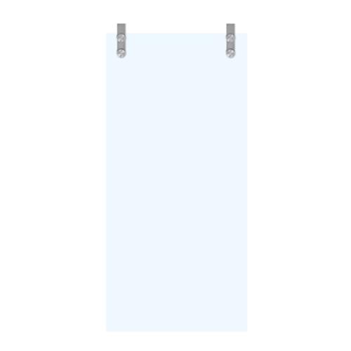 Porte coulissante en verre sécurit Thys 'Thytan Sliding Moderno' mat 215x93cm
