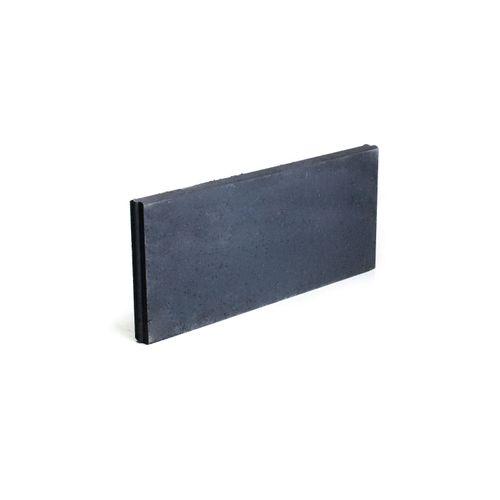 Bordure béton Coeck 100x40x6cm noir T&M