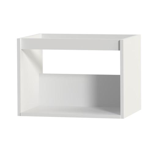 Meuble sous-lavabo Tiger 'Create your own style' blanc mat 60 cm