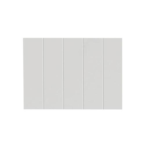 Panneau tiroir bande Tiger 'Create your own style' blanc mat 60 cm