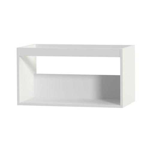 Meuble sous-lavabo Tiger 'Create your own style' blanc mat 80 cm