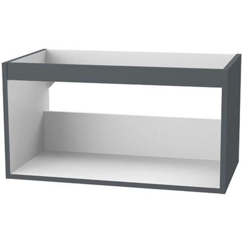 Meuble sous-lavabo Tiger 'Create your own style' gris foncé 80 cm