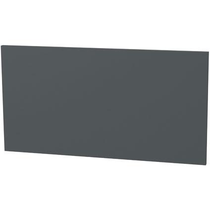 Panneau tiroir plat Tiger 'Create your own style' gris foncé 80 cm