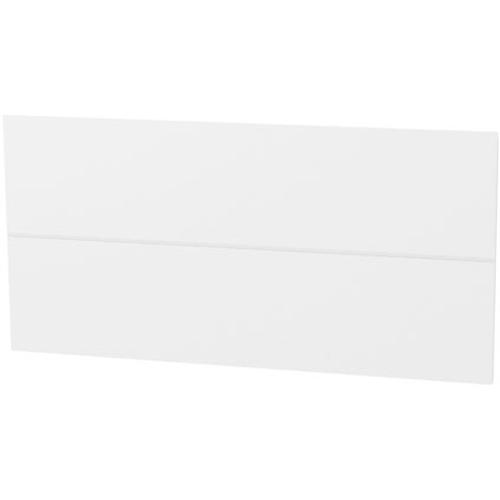 Panneau tiroir ligne Tiger 'Create your own style' blanc brillant 80 cm