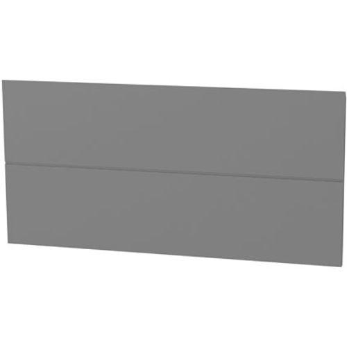 Panneau tiroir ligne Tiger 'Create your own style' gris moyen 80 cm