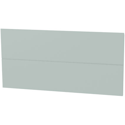 Panneau tiroir ligne Tiger 'Create your own style' gris bleu 80 cm