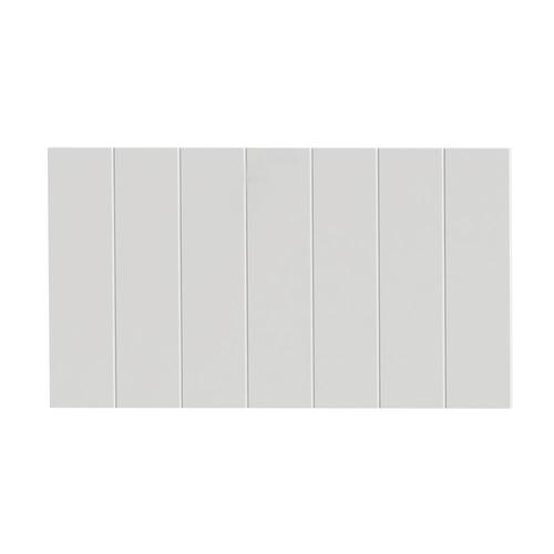 Panneau tiroir bande Tiger 'Create your own style' blanc mat 80 cm