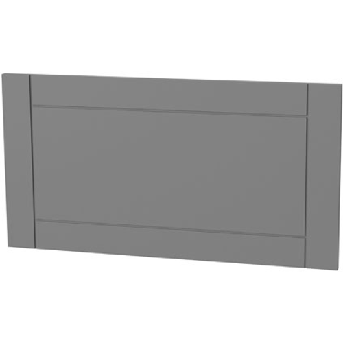 Panneau tiroir cadre Tiger 'Create your own style' gris moyen 80 cm