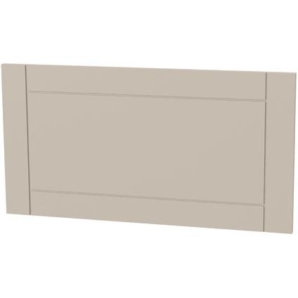Panneau tiroir cadre Tiger 'Create your own style' taupe 80 cm