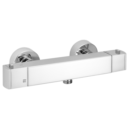 Mitigeur de douche thermostatique EsseBagno Munchen chrome NF