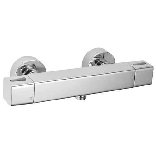 EsseBagno thermostatische douchemengkraan Voluto chroom