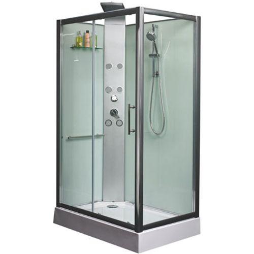 Cabine de douche Exellence 'Rainbow' gauche 218 x 120 cm