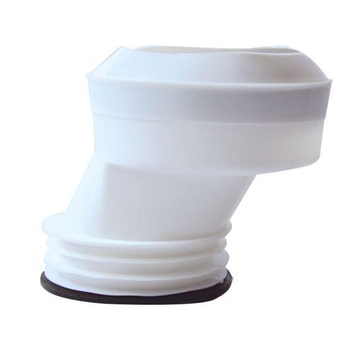 Wirquin exentrische wc-aansluitmof PVC