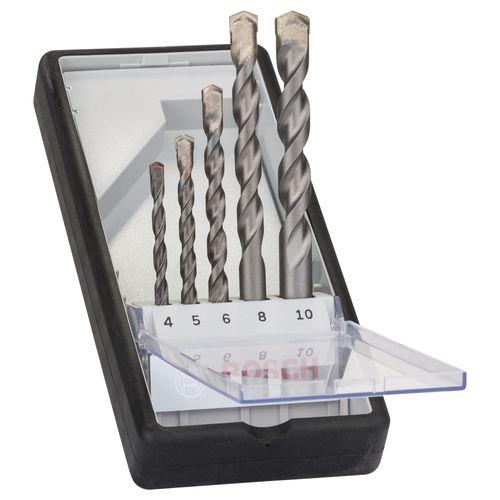 Bosch borenset Silver Percussion – 5 stuks