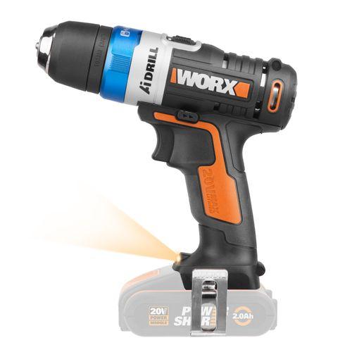 Worx schroefboormachine zonder accu WX178.9 20V