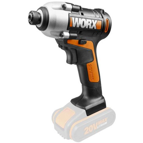 Worx accudraaislagmoeraanzetter WX290.9 Bare Tool BL 20V  toestel zonder accu en lader