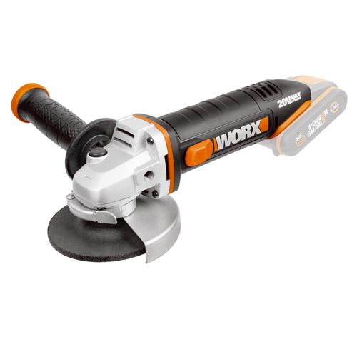 Worx haakse slijper zonder accu 'WX800.9' 20V