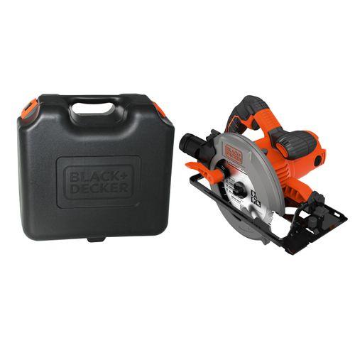 Scie circulaire Black + Decker CS1550K-QS 1500W
